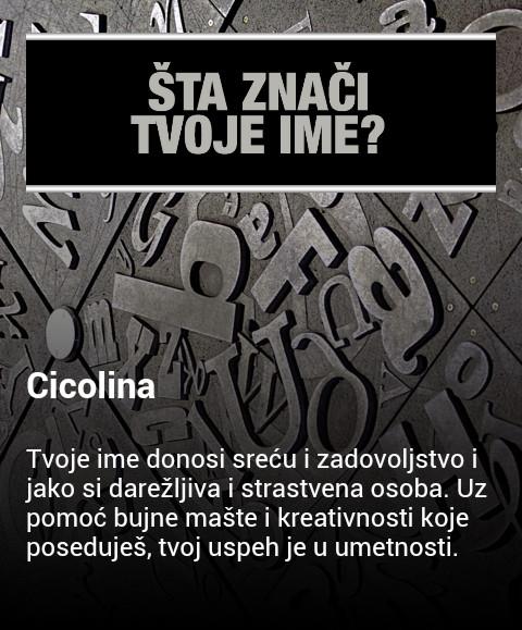 cicolina